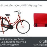 Buy a Scout Bike, Get a Free Bag
