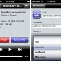 Two iPhone Recording Applications