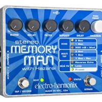 Stereo Memory Man with Hazarai Pedal