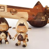Take-G Wooden Robot Toys
