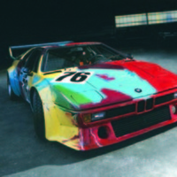 BMW Art Cars and An Expression of Joy Exhibit