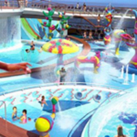 The FlowRider on the Freedom of the Seas