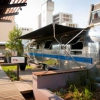 Grand Daddy Hotel's Rooftop Airstream Trailer Park