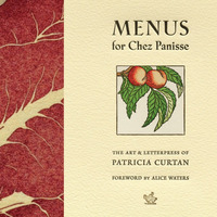 Menus for Chez Panisse (hardcover)