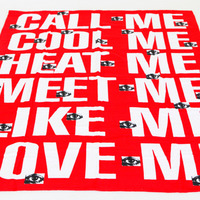 Barbara Kruger Towel