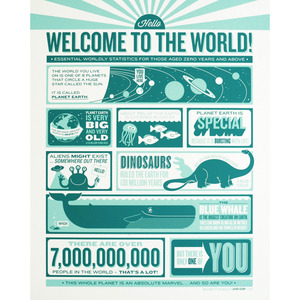 Welcome to the World Print