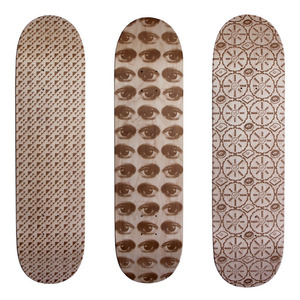 Laser-Engraved Skate Decks